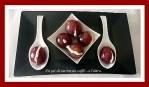 Bocconcini di uva con crema di gorgonzola