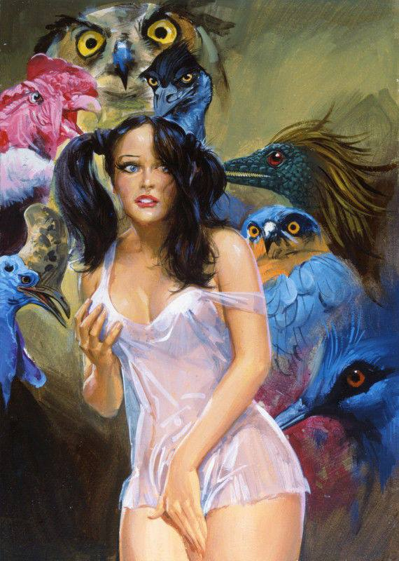 I would love to read her okcupid profile. No judgement. Artist: Averardo Ciriello
