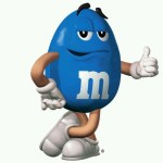 Blue M&m's Can Can Give You Bright Blue Skin and May Heal Spinal Injuries