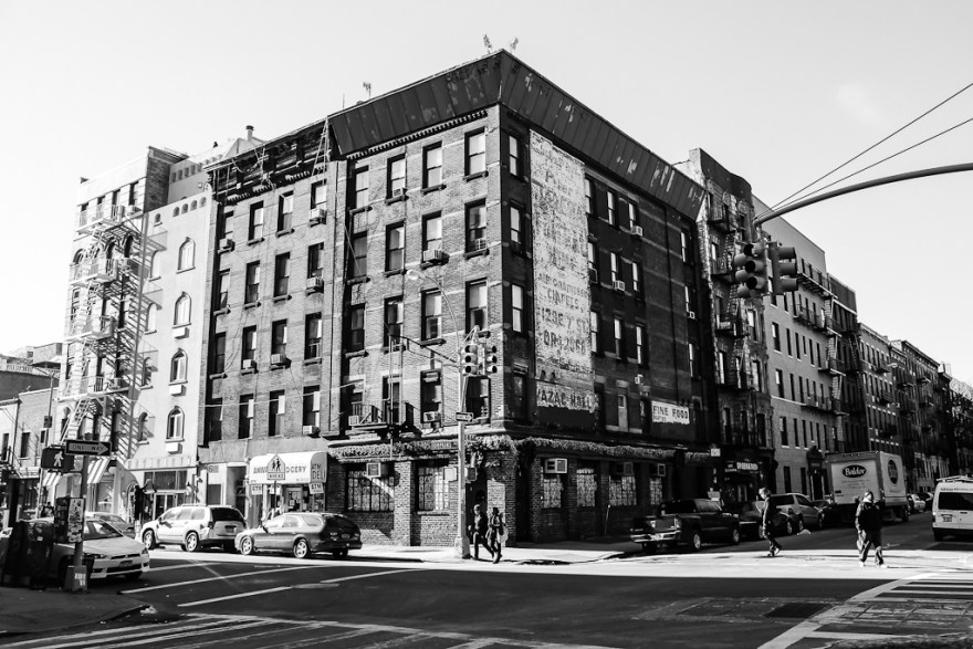 Gebäude im Eastvillage, New York, 2014 (c) Christoph Pankowski
