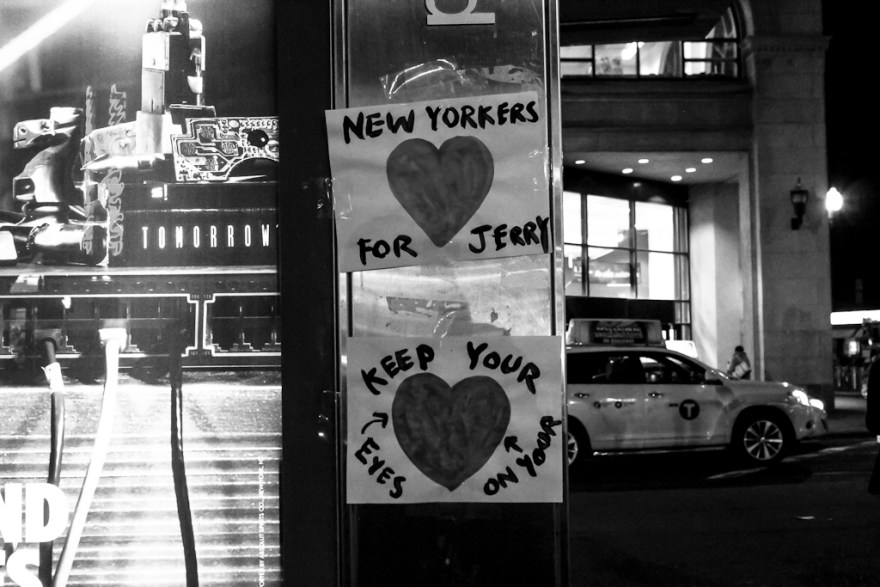 Keep your Eyes on your Heart, New York, 2014 (c) Veronika C. Dräxler