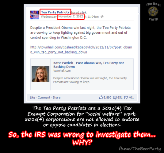 So... about the #IRS thing