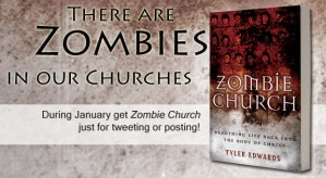 """Review of @KregelBook's """"Zombie Church, Breathing Life Back into the Body of Christ"""" (Fritzsche)"""