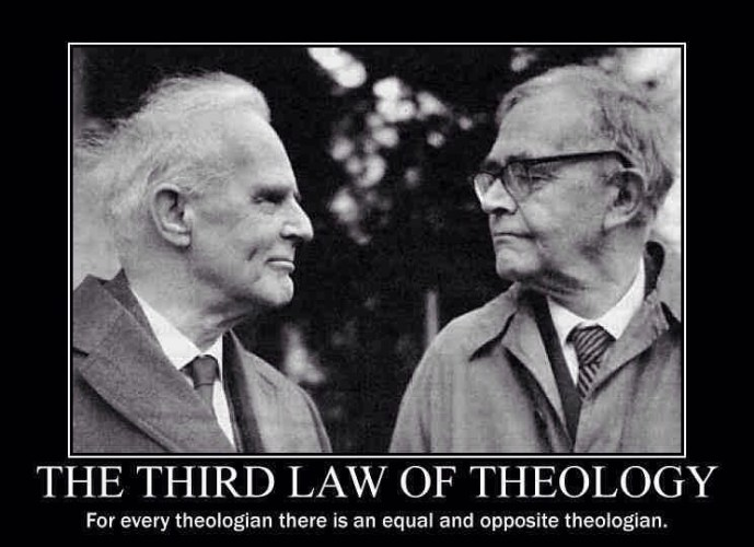 The 3rd law of theology