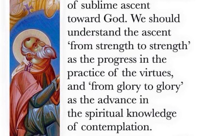 #QOTD – St Maximus on moving to the sublime