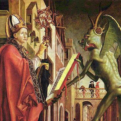 An image of Zwingli v the Pope