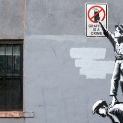 "Photos of all 31 Days of Banksy's NYC Residency, ""Better Out Than In"" and Map of Locations"