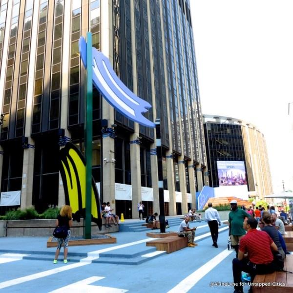 Roy Lichtenstein Penn Plaza Untapped Cities AFineLyne