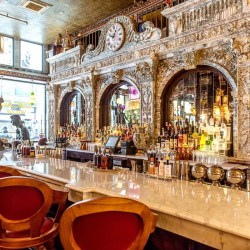 A Look Inside NoMad's New Oscar Wilde-Themed Bar, NYC's Longest Continuous Bar