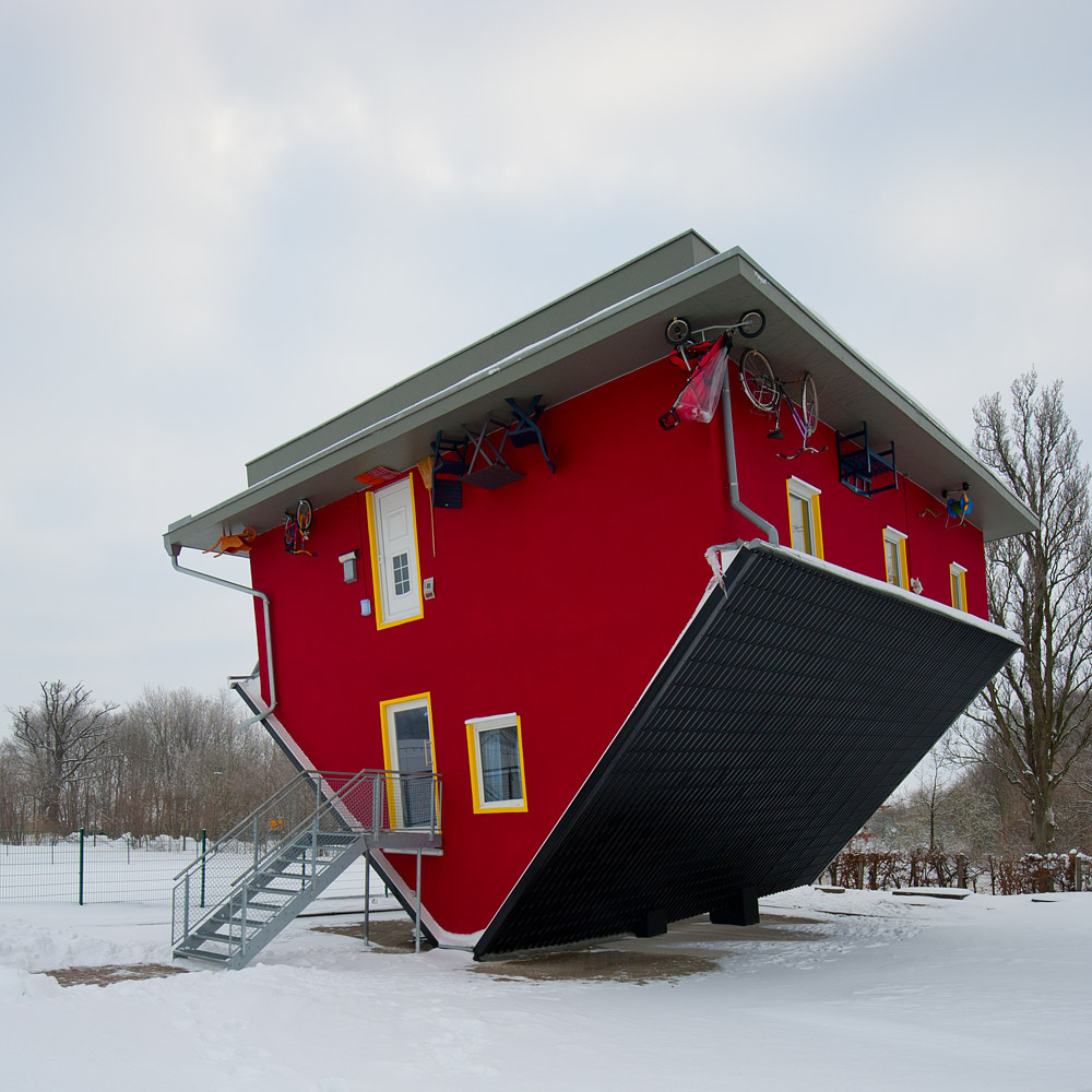 Upside Down House | Unusual Places
