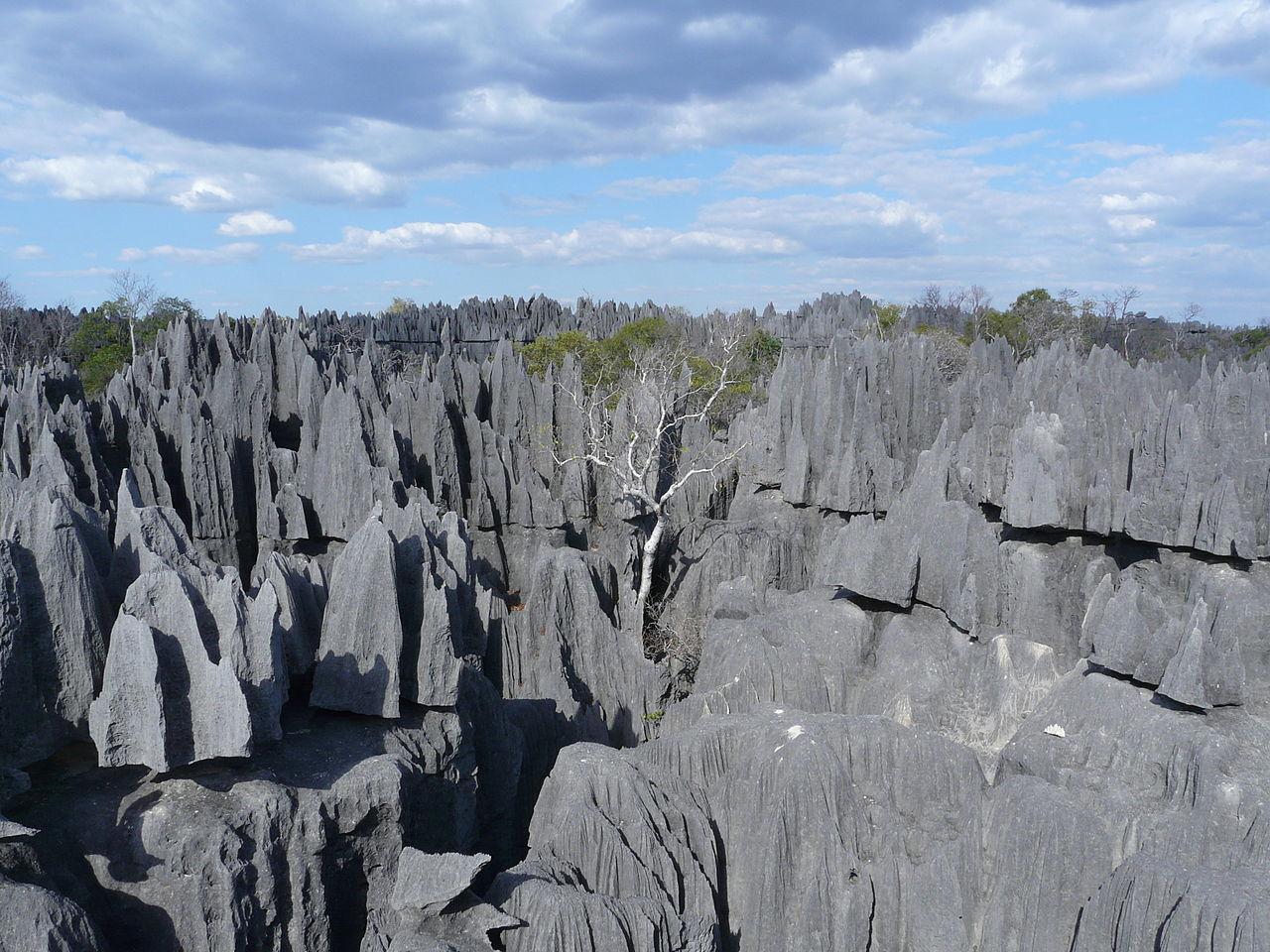 Tsingy de Bemaraha National Park | Unusual Places