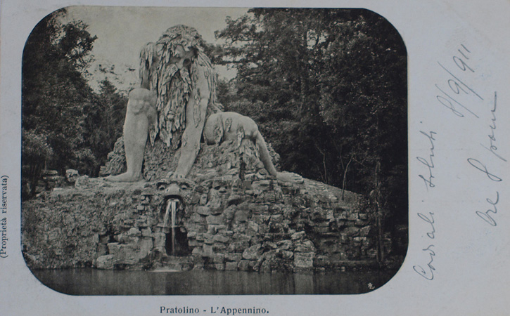 The Appennino in 1911.