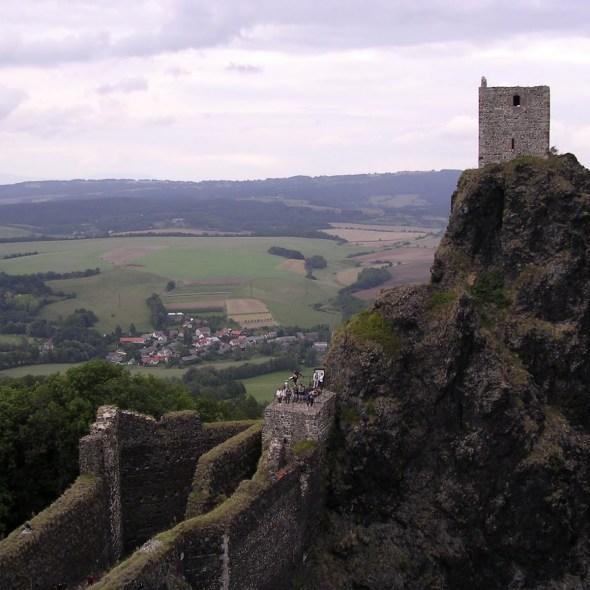 Trosky-Castle,-Hrad-Trosky,-Czech-Republic