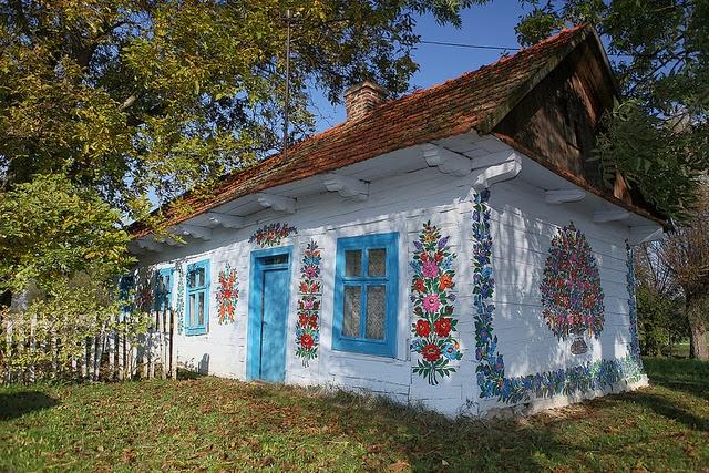 Zalipie The Most Beautiful Village In Poland Unusual