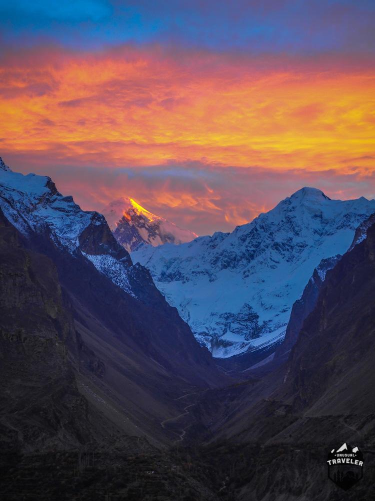 #Pakistan #sunset #Hunza