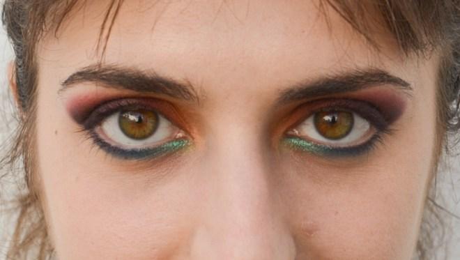 Rainbow eye makeup tutorial - step 9