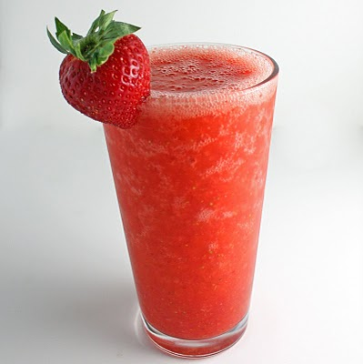 Paleo Fresh Strawberry Banana Sunrise Smoothie With Truvia Natural Sweetener