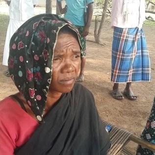 Mother of Siriyam Pojje at Palamagdu