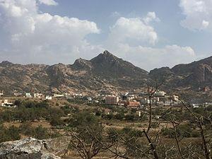 View of Hawalah tribe shows Jabal Atherb.JPG