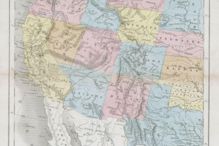 file 1864 dower map of the western united states