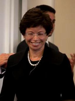 Valerie Jarrett, senior advisor to President B...