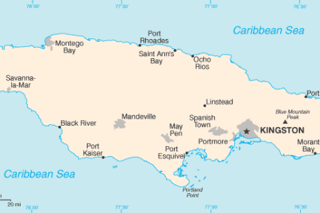 jamaica cia wfb map