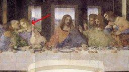 Da Vinci The last supper detail Da Vinci code