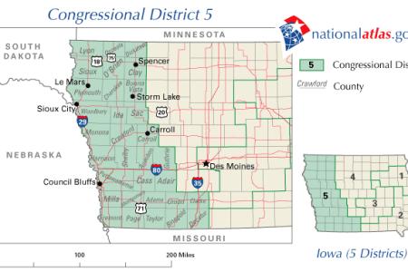 maps united states map iowa