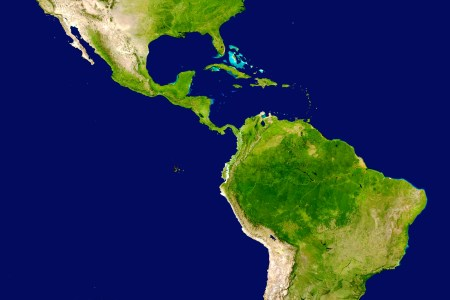 file americas satellite map wikimedia commons