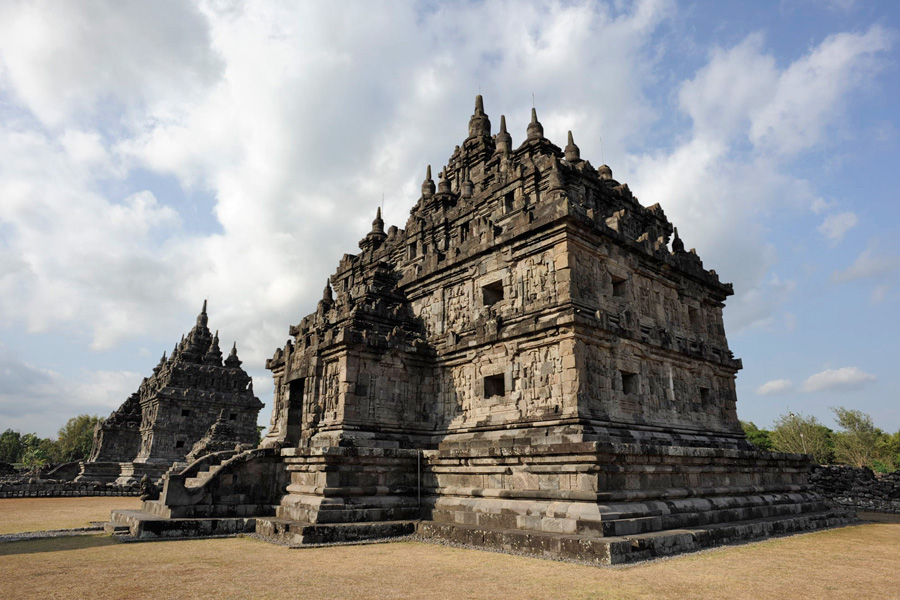 candi plaosan klaten central java indonesia