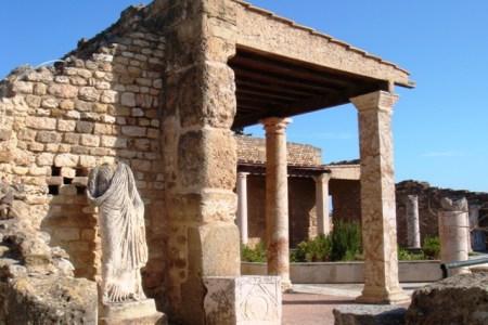 roman villa in carthage