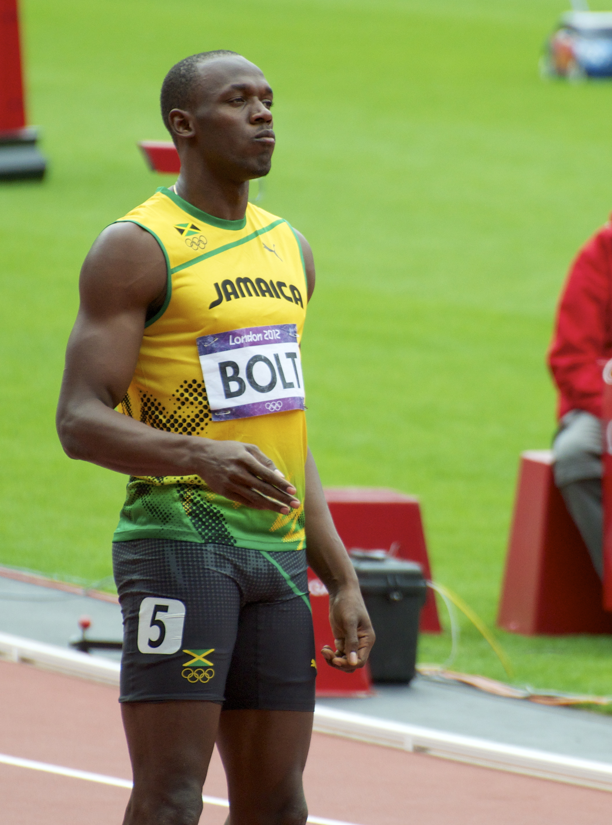 Bolt at the 2012 Summer Olympics
