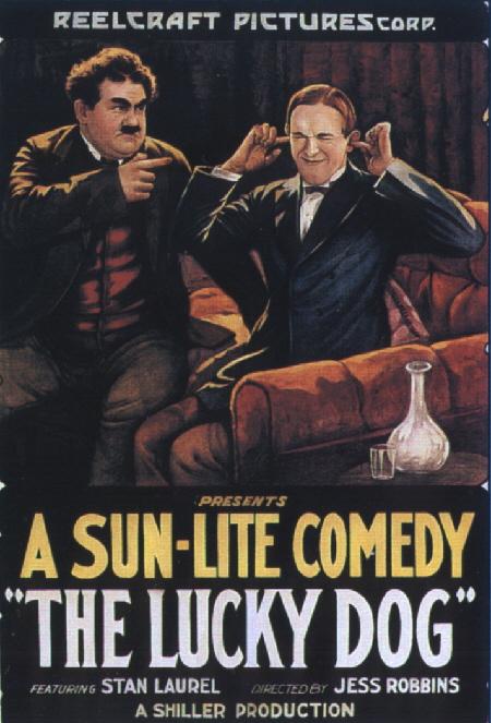 Stan Laurel - El Perro de la Suerte   1921   MEGA