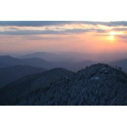 Small Crop Of Smokey Mountain Tops