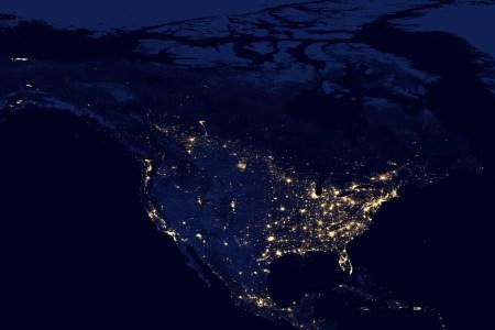 file north america night wikimedia commons