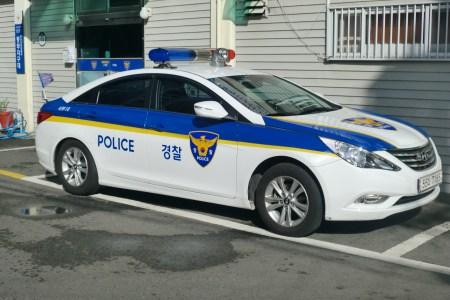 busan seobu police station patrol car.jpg