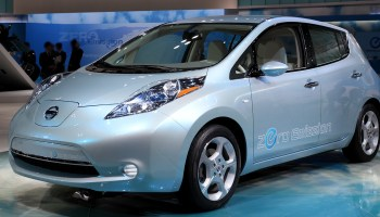 The new Nissan LEAF, or (Leading Environmentally-friendly Affordable Family car), will be availible in the U.S. in 2011.