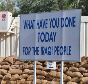 Baghdad Sign