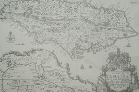 map jamaica 1671