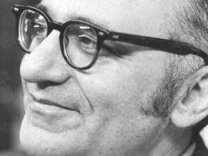 English: Close-up photo of Murray Rothbard