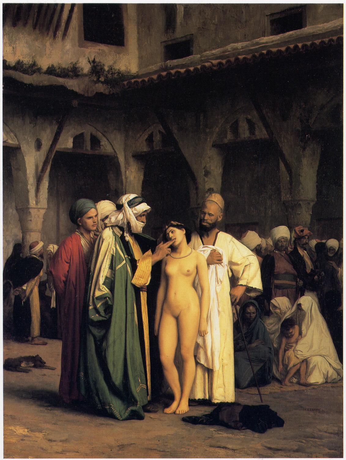 irish slave market