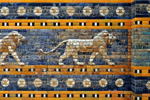 detalle de la puerta de Isthar
