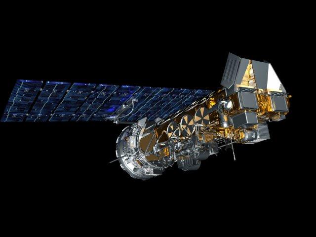 Citra satelit pemantau Hotspot di Indonesia