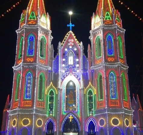Velankanni church at Tamil Nadu