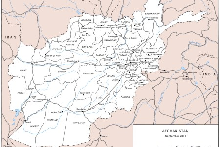 us army map of afghanistan circa 2001 09