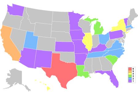 file miss usa map winning states wikimedia commons