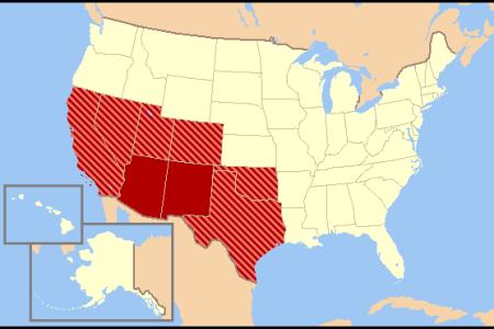 maps us map southwest