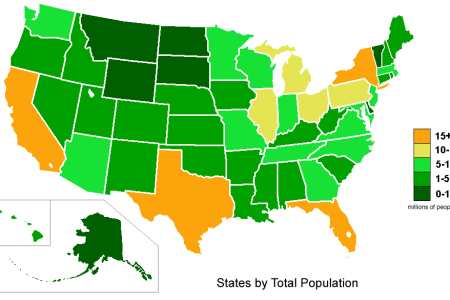 united states population map