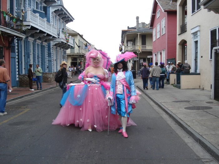 Description Mardi Gras Day  Bourbon  Costumes  French Aristocrats . 2048 x 1536.Mardi Gras Masks By The Dozen