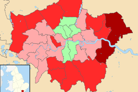greater london uk district map 2011 05 05 referendum